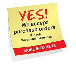 We Accept Purchase Orders